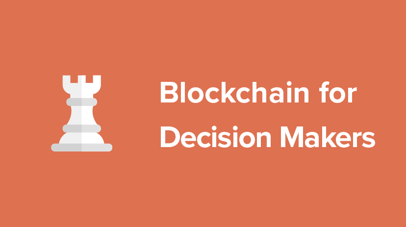 B-DMKS-SINGLE Blockchain for Decision Makers Course Cover Image