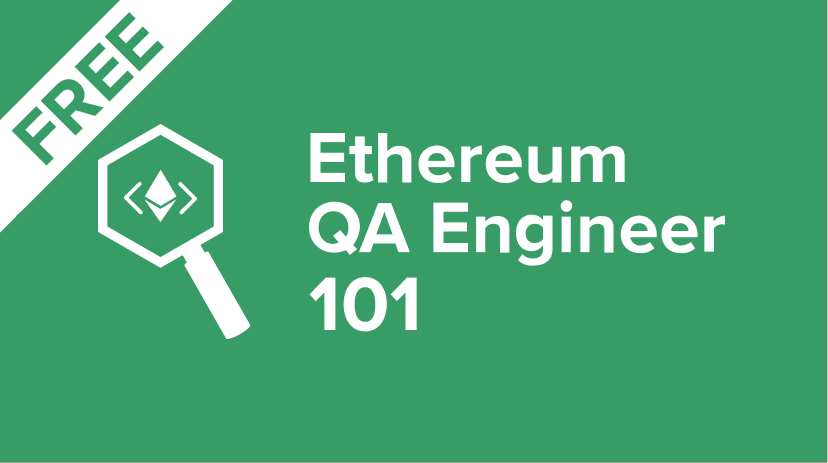 ETHEREUM-QA-TASTER Ethereum QA Engineer Course - Taster Cover Image