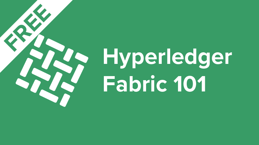 HLF-101 Introduction to Hyperledger Fabric for Developers Cover Image